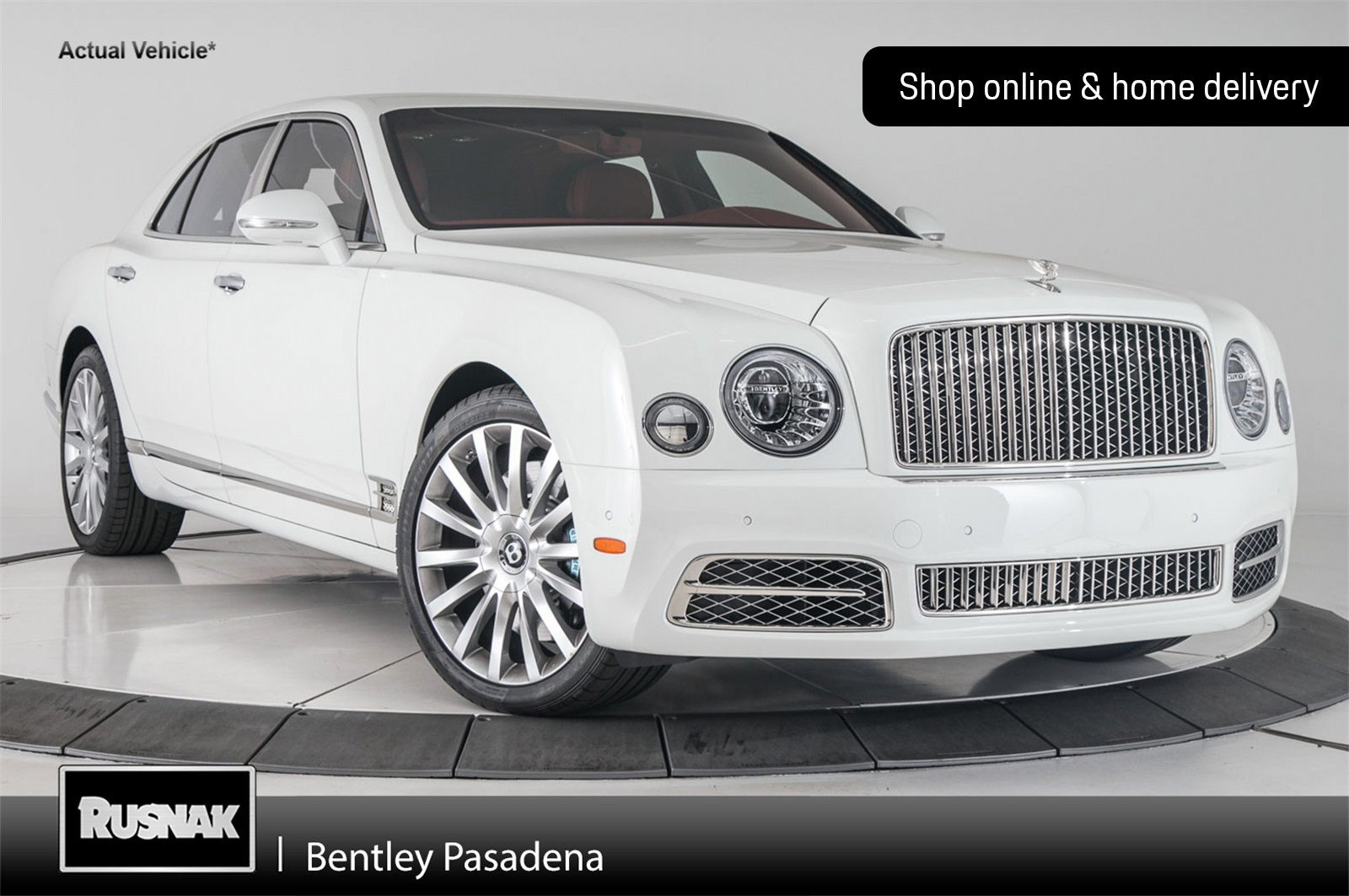 Pre-Owned 2018 Bentley Mulsanne