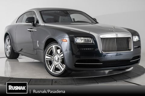 Certified Pre-Owned 2015 Rolls-Royce Wraith