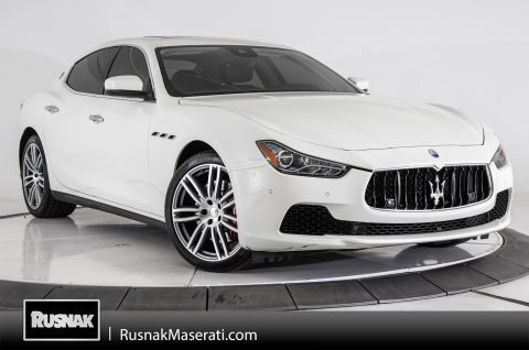Certified Pre-Owned 2017 Maserati Ghibli S